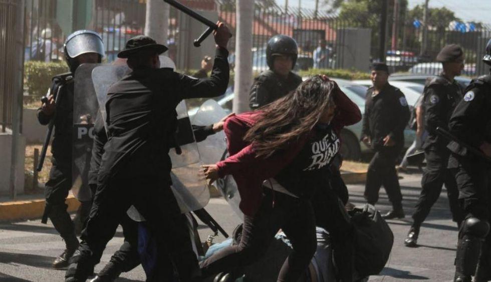 Las protestas que estallaron el 18 de abril de 2018 contra Ortega dejaron al menos 325 muertos, cientos de encarcelados y 62,500 exiliados. (Foto: AFP)