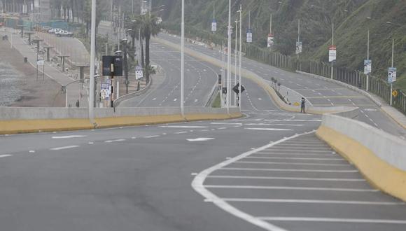 Se tiene previsto que la medida de abrir el tránsito se prolongaría hasta el mediodía de hoy. (Foto: Jorge Cerdán / @photo.gec)