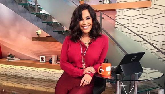 "Karla Martínez de ""Despierta América"" anunció que dio positivo a COVID-19 este lunes. (Instagram: @karlamartineztv)."
