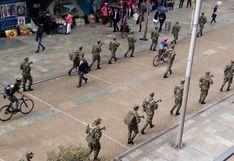 Colombia: Militares patrullan calles de Bogotá tres días antes de jornada de protestas | VIDEOS