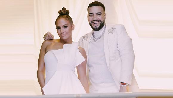 """Jennifer Lopez anuncia su nuevo tema """"Medicine"""" en colaboración con el rapero French Montana. (Foto: @jlo/@frenchmontana)"""