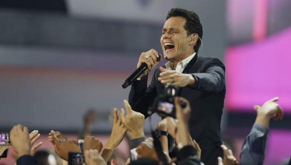 Marc Anthony vuelve a Lima en agosto. (Foto: Agencia / AP)