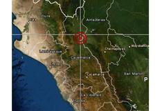 Cajamarca: sismo de magnitud 4,1 se reportó esta mañana en Jaén, según IGP