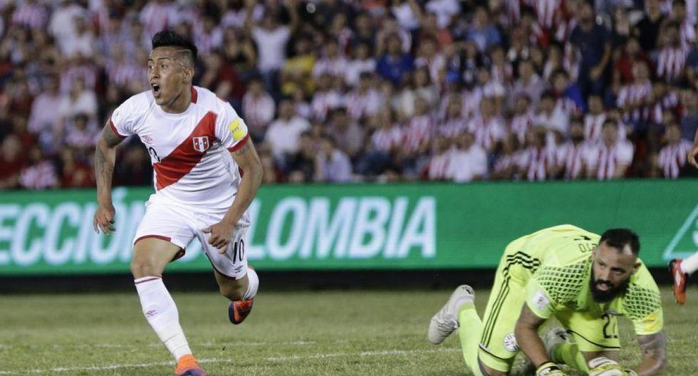 Christian Cueva fue la figura excepcional en la goleada 4-1 frente a Paraguay en Asunción. (Foto: AP)