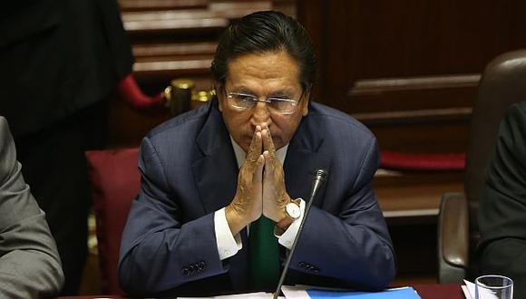 Congreso aprueba denunciar a Toledo por lavado de activos