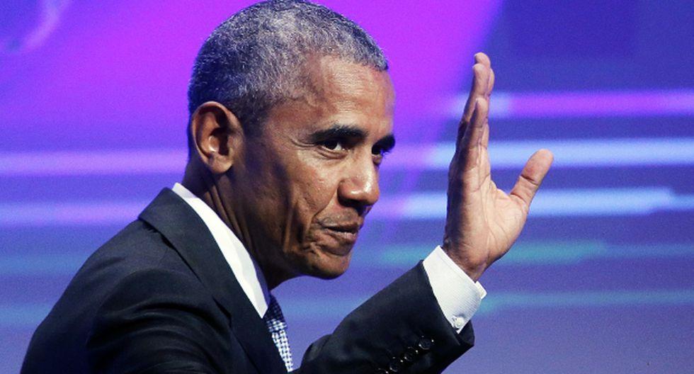 Barack Obama, ex presidente de los Estados Unidos. (Foto archivo: AP)