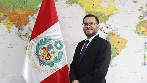 Ministro de Comercio Exterior y Turismo, Edgar Vásquez (Foto: Mincetur)
