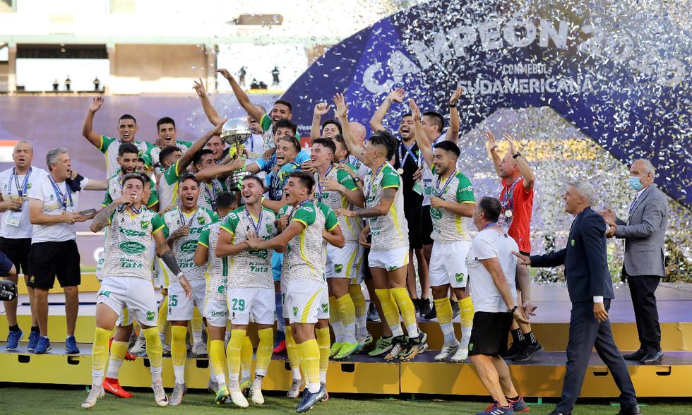 Defensa y Justicia vs. Lanús: postales de la final de la Copa Sudamericana | Foto: Reuters