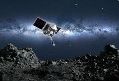 La audaz maniobra de la nave espacial Osiris-Rex para tocar este asteroide y recolectar muestras de su superficie