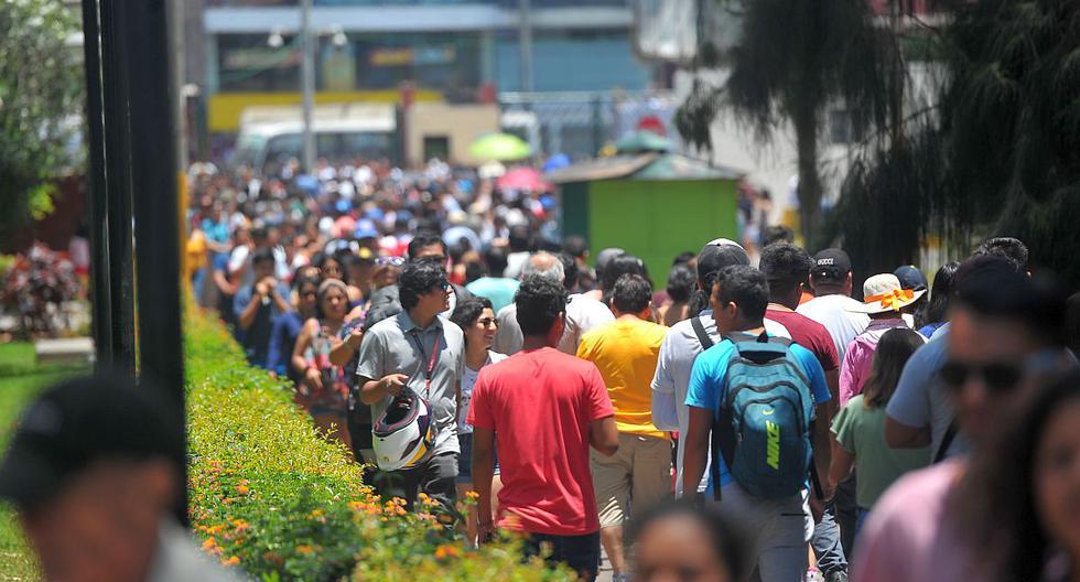 El índice máximo de radiación UV alcanzará el nivel 15 en la capital este lunes, según informó el Senamhi. (Foto: GEC)
