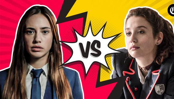 """¿""""El Internado: Las cumbres"""" o """"Élite""""? Ambas son producciones españolas, pero ¿Qué destaca de cada una y por qué son tan atrayentes? Aquí lo contamos. (Fotos: Amazon Prime Video y Netflix)."""
