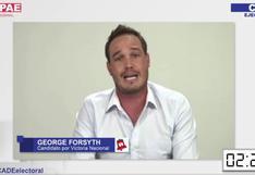 Fact checking: George Forsyth y sus afirmaciones en CADE Electoral sobre la vacunación y el currículo escolar