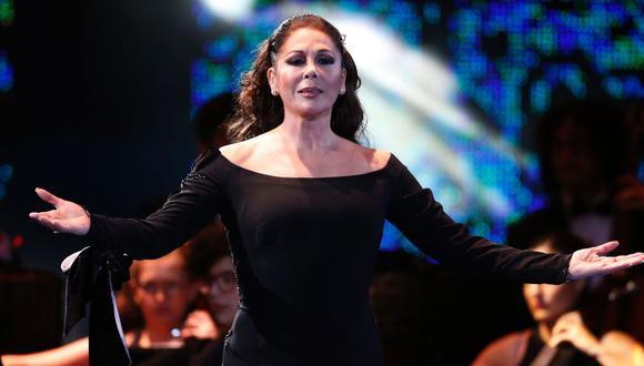 Isabel Pantoja presenta por sorpresa su nuevo tema, 'Esta es mi vida'. (Foto: AFP)