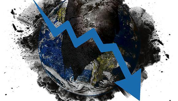 """""""Mientras que la Gran Depresión de 1929 duró diez años y la crisis financiera del 2008 duró entre dos y tres años, se estima que la actual durará un año"""". (Ilustración: Giovanni Tazza)."""