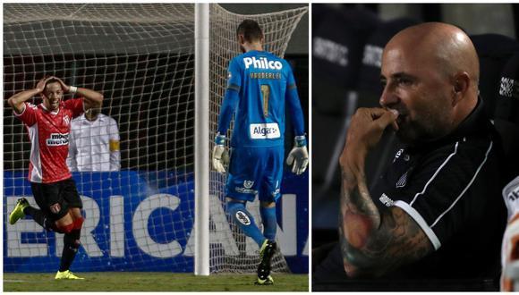 Santos vs. River Plate EN VIVO: uruguayo Da Luz marcó 1-0 en el Pacaembú para sorpresa de Sampaoli | VIDEO. (Video: YouTube/Foto: AFP)