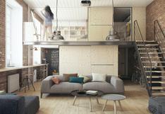 En 37 m2: ¿cómo crear espacios de estilo industrial?