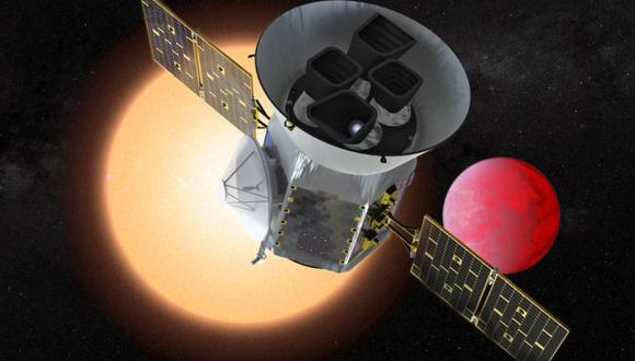 El satélite Transiting Exoplanet Survey Satellite (TESS) de la NASA encontrará mundos aún no descubiertos alrededor de las estrellas cercanas brillantes. (Foto: NASA)