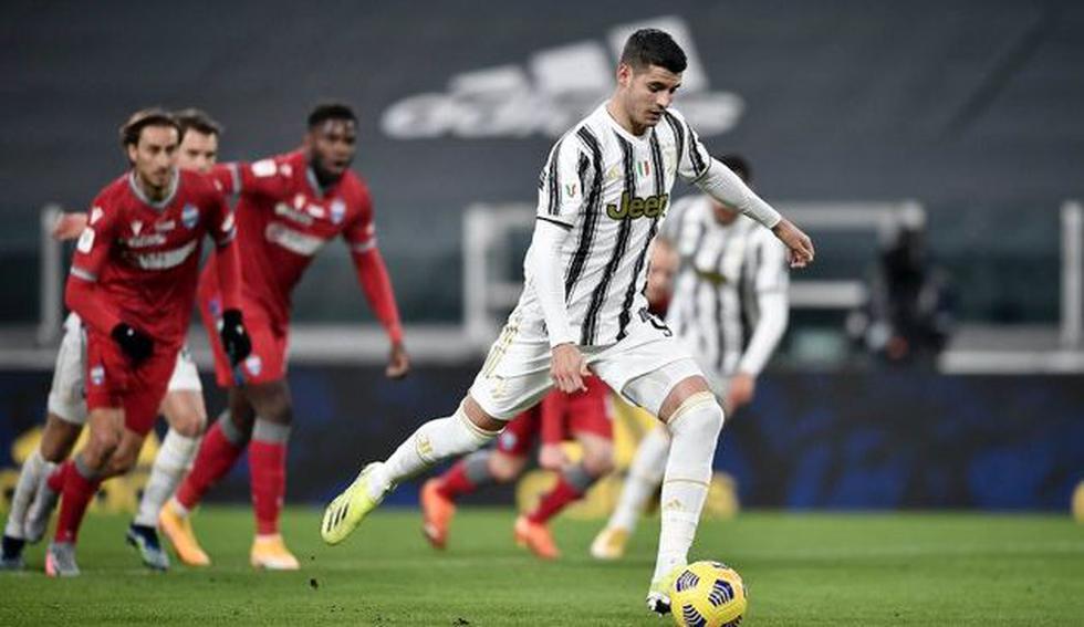 Juventus vs. SPAL (Twitter)