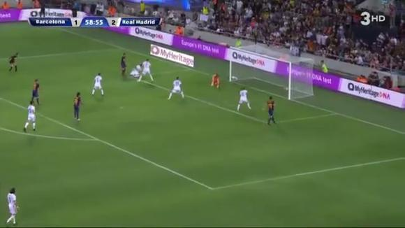 Jofre Mateu scored for the Barcelona vs.  Real Madrid in a friendly of legends.  (Video: 3HD)