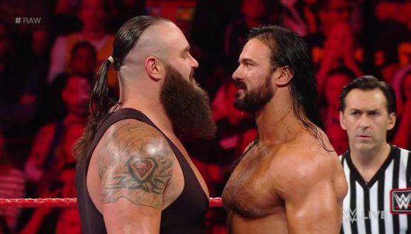 Baron Corbin, Drew McIntyre y Bobby Lashley masacraron a Braun Strowman | Foto: WWE