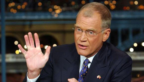 David Letterman anunció que dejará su famoso programa de TV