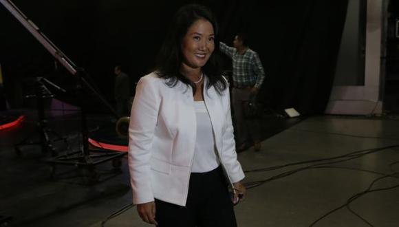 Keiko Fujimori felicitó a todas las autoridades electas a nivel nacional. (Foto: Archivo El Comercio)