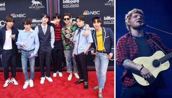 ¿BTS colaborará con Ed Sheeran? (Foto: EFE)