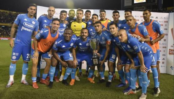 Belgrano de Córdoba derrotó en la tanda de penales a Rosario Central en amistoso de verano.   Foto: Twitter Belgrano