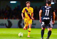Barcelona venció a Cartagena por 2-0 con goles de Carles Pérez y Alejandro Márques en un partido amistoso jugado en Cartagonova