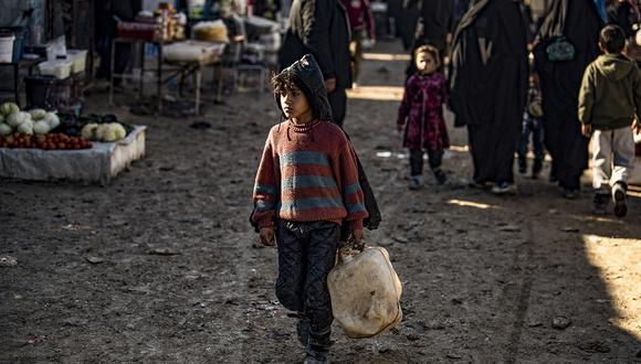 Las condiciones de vida particularmente difíciles en el campamento causaron la muerte de más de 517 personas, incluidos 371 niños en 2019. (Foto: AFP)