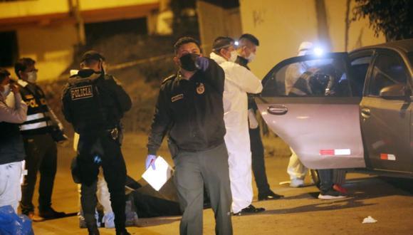 Crimen ocurrió en la urbanización El Álamo en Comas (Foto : César Grados /@photo.gec)