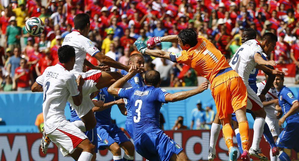 Italia vs. Costa Rica: las mejores postales a ras de campo - 7