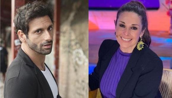 Rebeca Escribens y George Slebi Cusse se unen para imitar a Marc Anthony y Paloma San Basilio (Foto: Instagram)