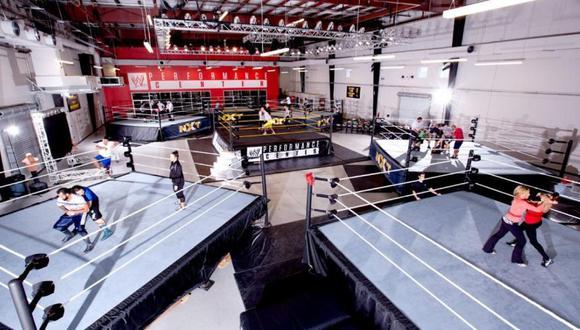 El primer Performance Center de la WWE, ubicado en Orlando, Florida. (WWE)
