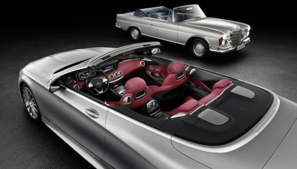 Mercedes-Benz nos da un adelanto del Clase S Cabriolet