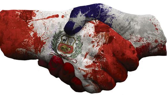 """""""Los que vivimos en el Perú sentimos que la distancia física que nos separa de Chile se desvanece"""" (Ilustración: Giovanni Tazza)."""