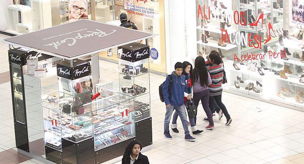 En las provincias con 'malls', se gasta más en diversión