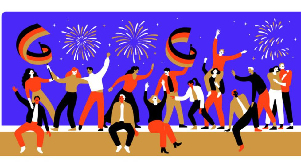 La artista Lisa Tegtmeier, que vive y trabaja en Hamburgo, estuvo a cargo de la creación del doodle. (Google)