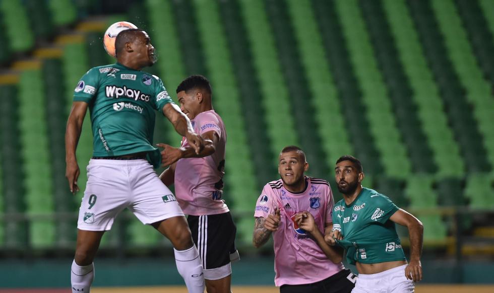 Deportivo Cali - Millonarios: Copa Sudamericana. (Foto: AFP)