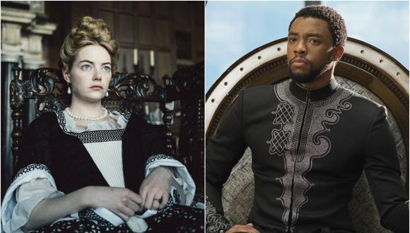 """The Favourite"" y ""Black Panther"" (Foto: Agencia)"