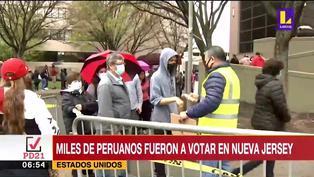 Elecciones 2021: miles de peruanos en el mundo acudieron a votar