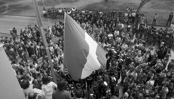 El 28 de agosto de 1979, se realizaron diversas actividades por el 50 aniversario de la reincorporación de Tacna al Perú. (Foto: GEC Archivo Histórico)