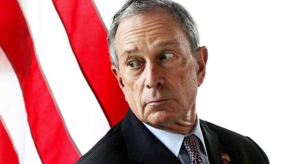 Estadounidenses rechazan candidatura de Bloomberg