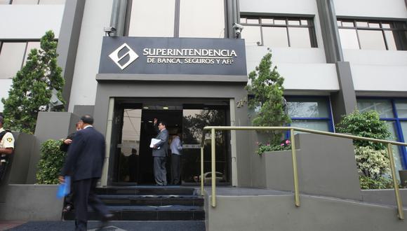 La Superintendencia de Banca, Seguros y AFP (SBS). (Foto: Analia Orezzoli | GEC)