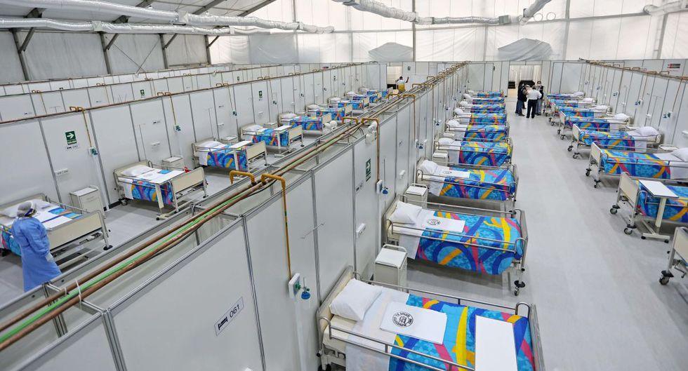 El sábado fue entregado el Centro de Atención y Aislamiento Covid-19 en el hospital Nacional Hipólito Unanue que cuenta con 100 camas hospitalarias y equipamiento médico. (Proyecto Legado Lima 2019)