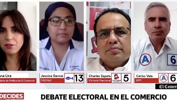 Continúan los debates electorales en El Comercio.
