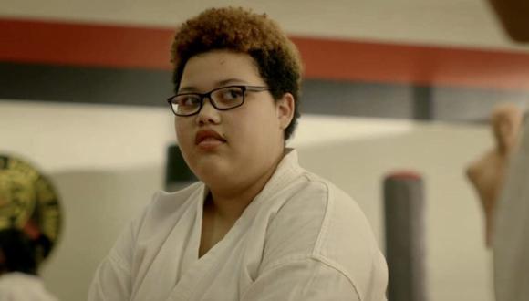 "Los fanáticos de Cobra Kai se enamoraron de Aisha de Nichole Brown en la primera temporada de ""Cobra Kai"". (Foto: Netflix)"