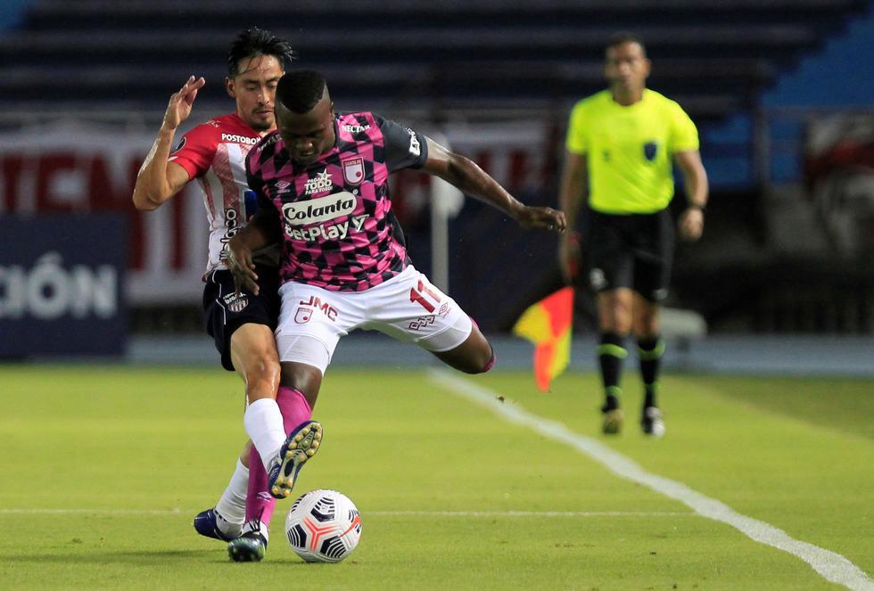 Junior enfrentó a Santa Fe por la Copa Libertadores 2021