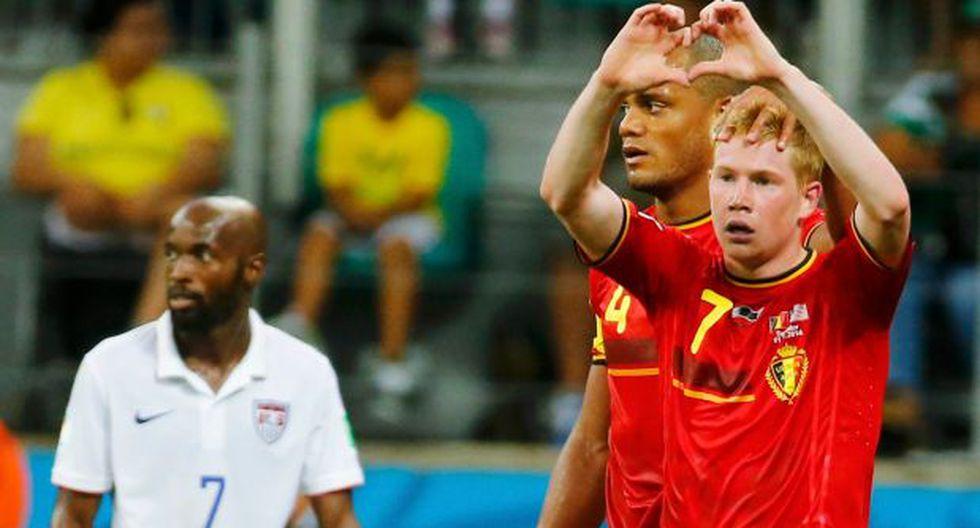 Bélgica será rival de Argentina en cuartos: ganó 2-1 a EE.UU.