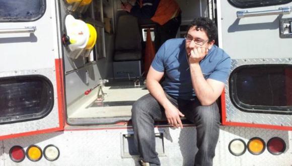 Daniel Gatica es un médico residente en Orán, Salta, una de las ciudades del interior de Argentina desbordada por casos de coronavirus.  (Foto: DANIEL GATICA/FACEBOOK)